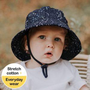 Baby Bucket Hat Zodiac Front