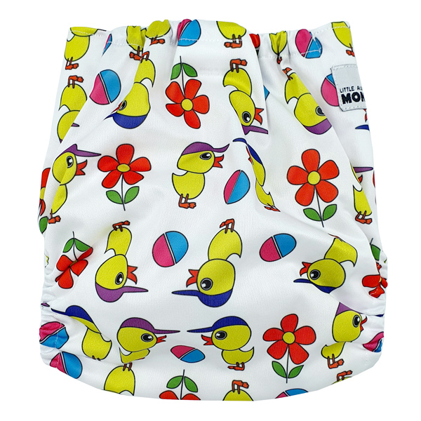 Baby Chicks Modern Cloth Nappy Back
