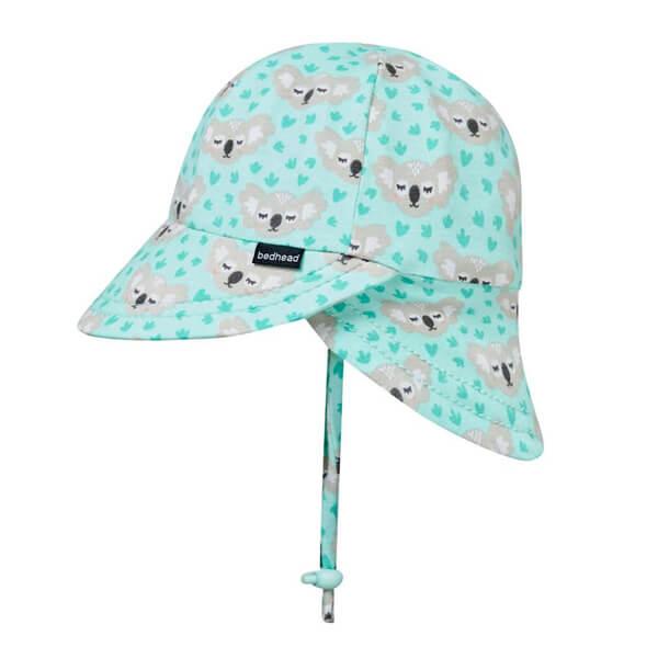 Baby Flap Hat Koala Side 2
