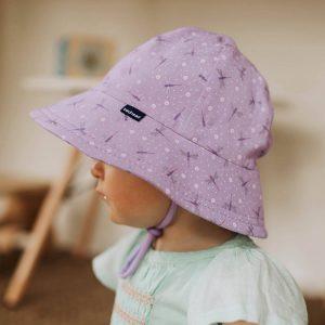Flutter Baby Bucket Hat side