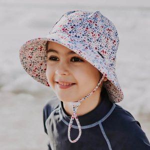 Kids Swim Bucket Hat Posie Front