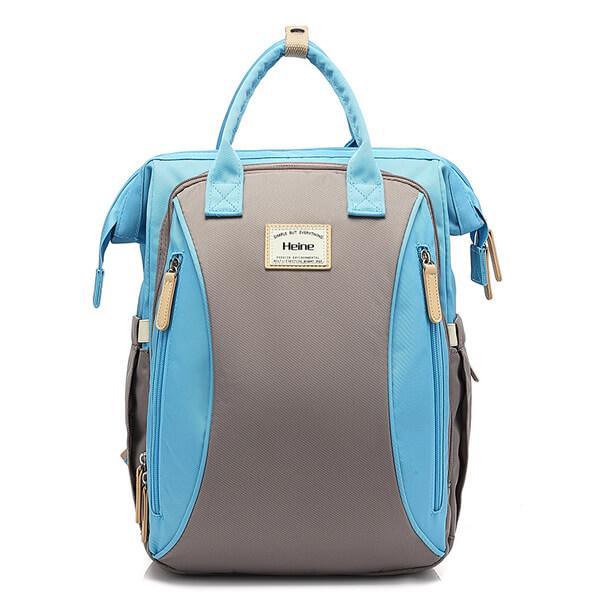 Large Backpack Blue Front