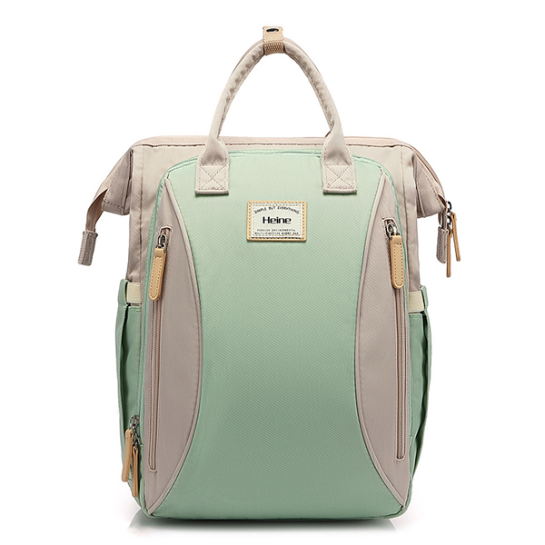 Large Backpack Green Front