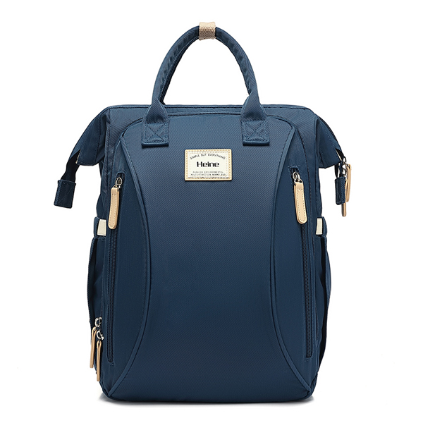 Large Backpack Navy Front