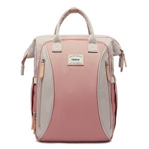 Large Backpack Pink Front
