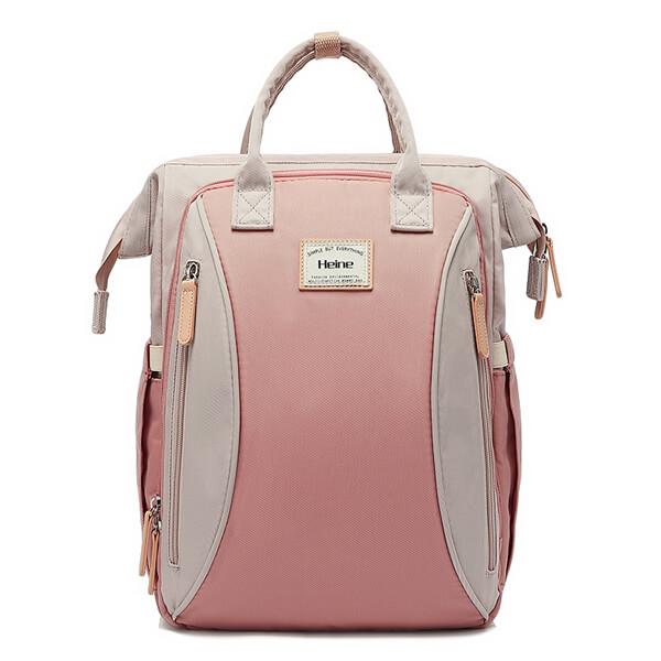Large Backpack Pink Front