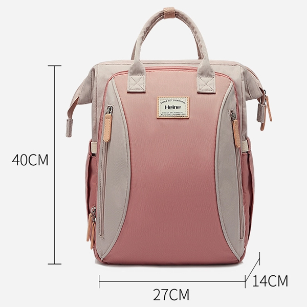 Large Backpack Pink Measurment
