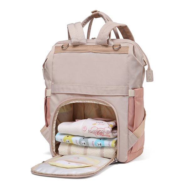 Large Backpack Pink Open Back Items