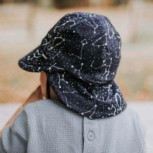 Zodiac Flap Baby Hat Back
