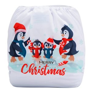 XMAS Penguins Back
