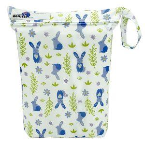 Wet Bag Purple Bunny