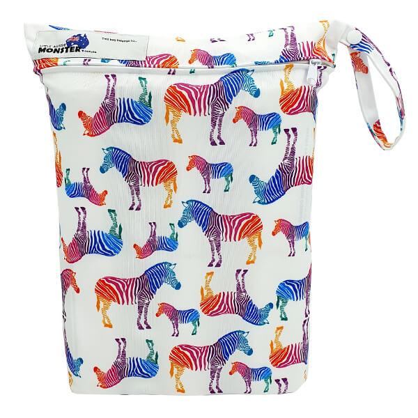 Wet Bag Rainbow Zebra