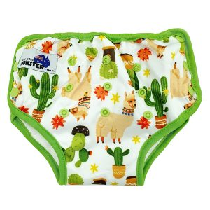 Alpaca Cactus Cloth Toilet Training Undies
