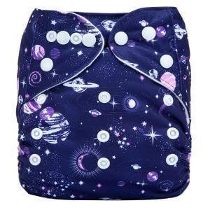 Purple Galaxy Modern Cloth Diaper
