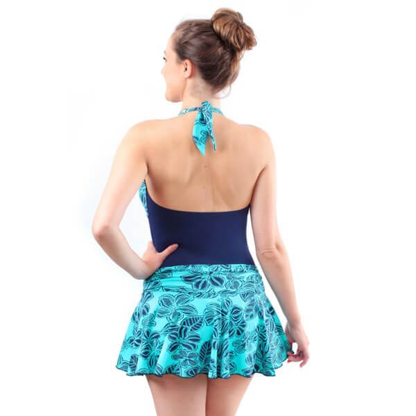 Ladies Incontinence Skirt Swimmer Model Back