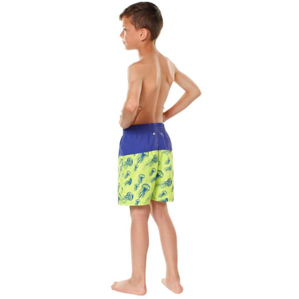 Boys Jelly Fish Board Shorts Model Back