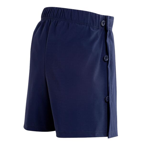 Mens Wrap Navy Swim Incontinence Shorts Back