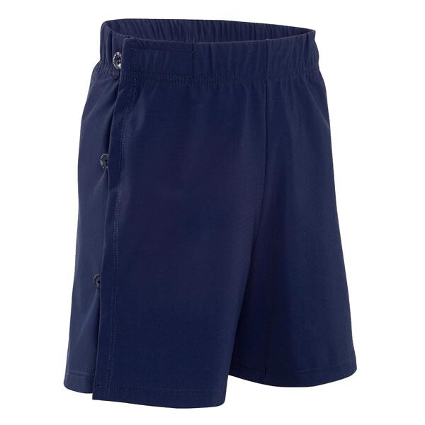 Mens Wrap Navy Swim Incontinence Shorts