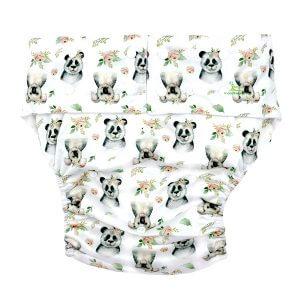 Adult Cloth Nappy Koala Panda Front