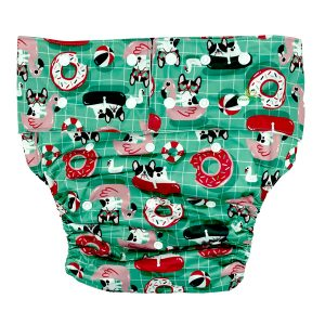 Adult Cloth Nappy Pool Frenchie Front