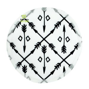 Breast Pads Black + White Front 1