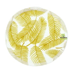 Breast Pads Golden Palms Front 1