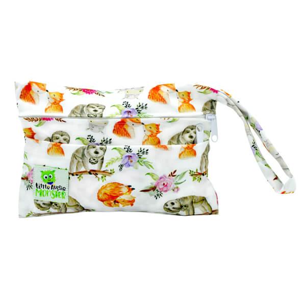 Cuddly Animals Mini Wet Bag