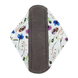 Incontinence Pad Cornflowers Front