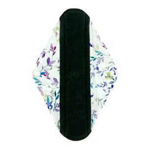 Sanitary Pad Pretty Leaves Heavy Front