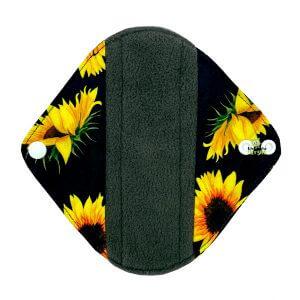 Sanitary Pad Sunflowers Light