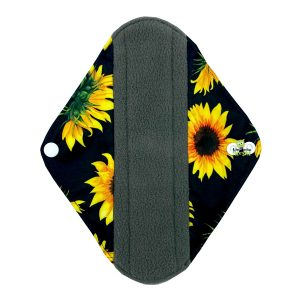 Sanitary Pad Sunflowers Regular Front