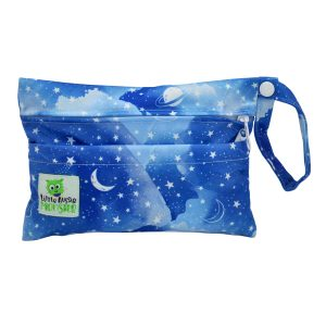 Blue Galaxy Mini Wet Bag