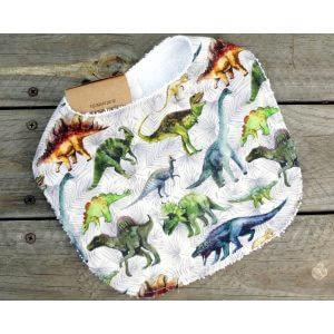Dinosaurs Feeding Bib