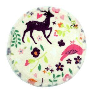 Breast Pads Minky Deer Front 1