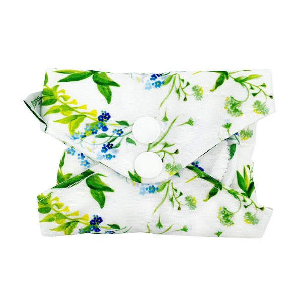 Incontinence Pad Large Bell Flowers Folded