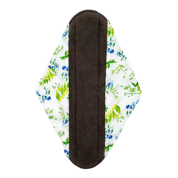 Incontinence Pad Large Bell Flowers Front