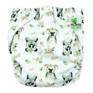 Koala Panda XL Junior Cloth Nappy Back