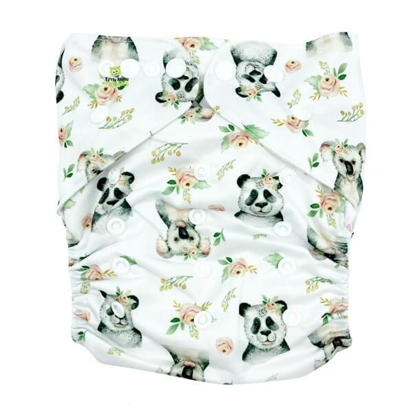 Koala Panda XL Junior Cloth Nappy Front