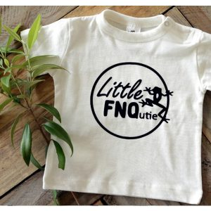 Little FNQutie White T-shirt