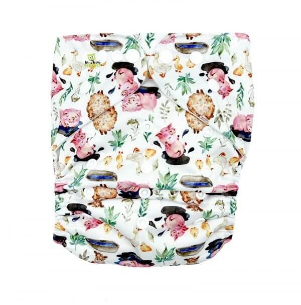 Mud Farm XL Toddler Cloth Nappy Front