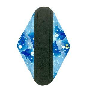 Sanitary Pad Blue Galaxy Heavy Front