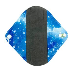 Sanitary Pad Blue Galaxy Light Front