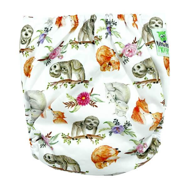 Cuddly Animals XL Junior Cloth Nappy Back