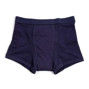 Kids Incontinence Boxer Navy Front