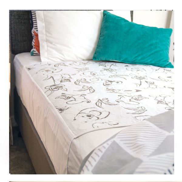 Reusable Bed Pad Tuck Ins Animals