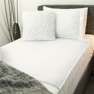 Reusable Bed Pad White Tuck Ins
