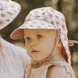 Baby Reversible Flap Hat Paige Model Front