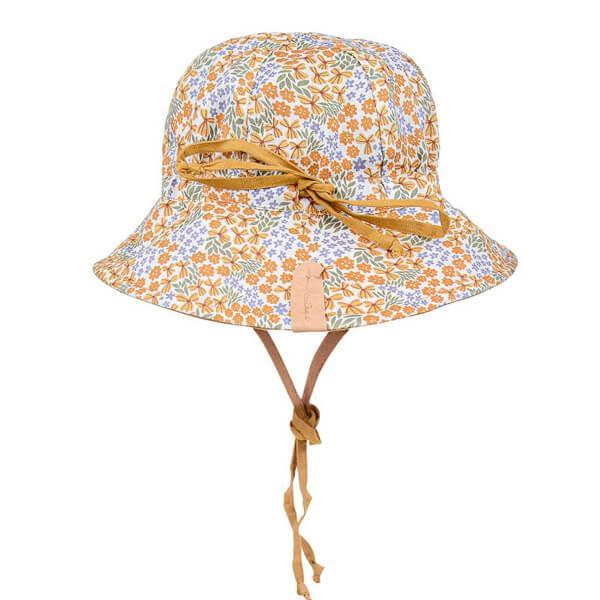 Girls Reversable Sun Hat Mabel Back