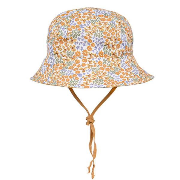 Girls Reversable Sun Hat Mabel Front