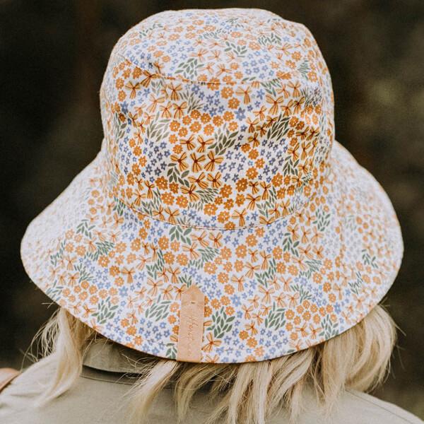 Ladies Reversible Sun Hat Mabel Model Back